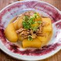 安心安定の味「生姜たっぷりな豚バラ大根」& 「天重と冷やしうどんの弁当」