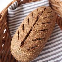 《レシピ》プンパーニッケル風ライ麦パン(イースト、バター、卵は不使用です)