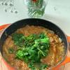 菜の花とフレッシュトマトのミートソース
