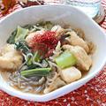 鶏胸肉とチンゲン菜の中華風すき焼き【お腹にやさしいダイエット煮物】|レシピ・作り方
