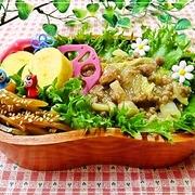白菜&挽肉のあんかけのっけ弁*6/23のお弁当♪