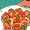 ローストビーフと焼き野菜の簡単オードブル