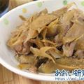 料理日記 165 / 豚こま肉とごぼうのしぐれ煮 (低温調理と併用)