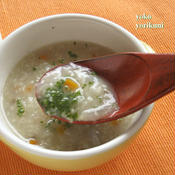 根菜と雑穀のあったかスープ