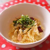 ミックス豆のたらこクリームマカロニサラダ 日清フーズモニターレシピ