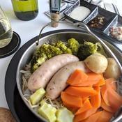 わささんしょうの温野菜