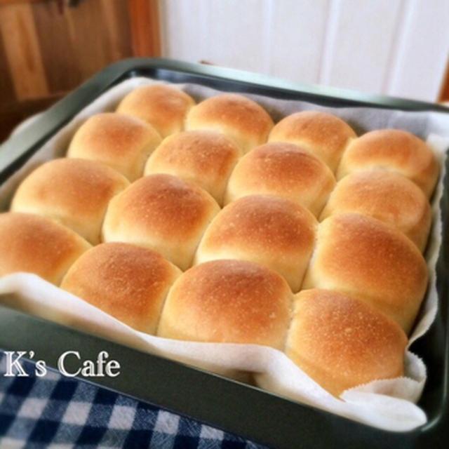 シンプルミルクちぎりパン♡