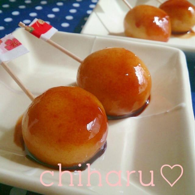 【もちもち】お豆腐だんごのみたらし♡作り方