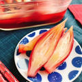 茗荷の梅酢漬け(動画レシピ)/Myoga ginger pickled in plum vinegar.
