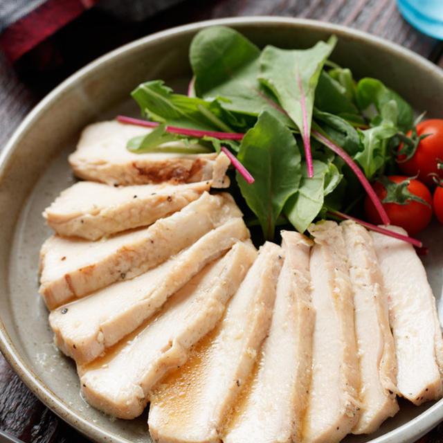《期間限定》【レシピ本一部無料公開】むね肉deうまだし♡オイル鶏ハム