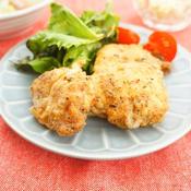 鶏むね肉の米粉フライドチキン