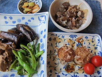 ある日の和のお惣菜四品