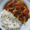ニンニク生姜たっぷり野菜カレー