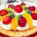 大きいプリンア・ラ・モード/ Big pudding à la mode by HiroMaruさん
