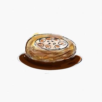 レンコンのハンバーグ