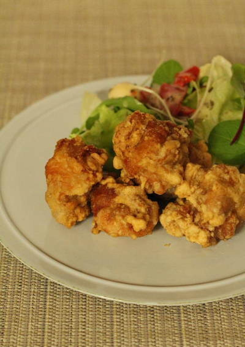 ■ジューシー!にんにく風味の鶏のからあげ<br><br>からあげが大好きなので、我が家の食卓にはかな...