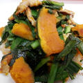 簡単☆豚肉とカボチャの絶品カレー風味 by kaana57さん