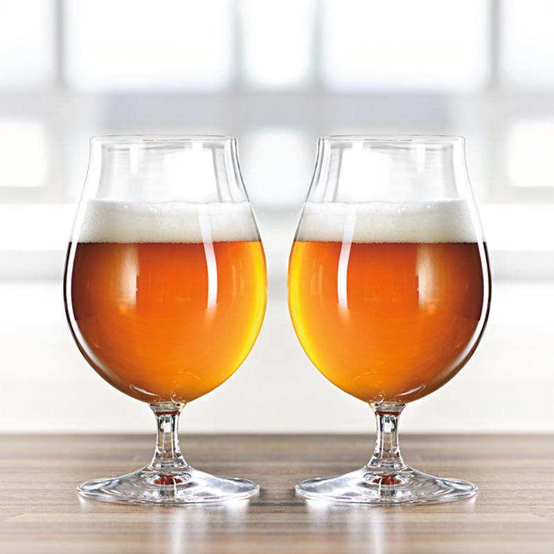 ワイングラスで有名なリーデルが、グループブランド「シュピゲラウ」としてビール向けのグラスを扱っている...