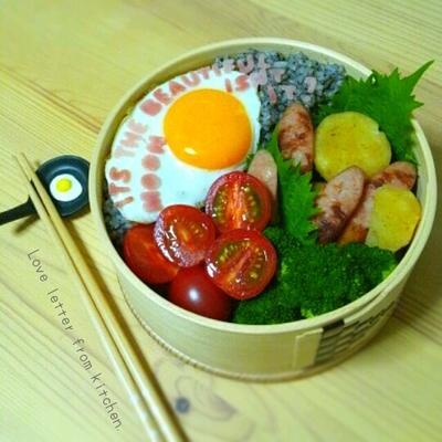 ラブレター弁当。featuring 漱石先生