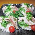 レモン胡椒と麺つゆで爽やか豚シャブとお素麺~ by haruさん
