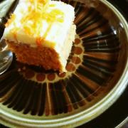 《スウェーデンのお菓子》キャロットケーキ
