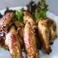 超簡単<鶏手羽のピリ旨照り焼き>庭乃桃さんのつくレポ