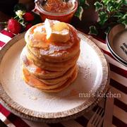 HMとヨーグルトdeふかもち♡朝から幸せパンケーキタワー♡