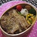 豚丼弁当&ゴーヤきんぴら弁当 by とまとママさん