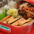 「かに玉の海苔サンドオムレツ」のお弁当 & バレンタインの料理と簡単おやつ