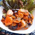 鮭となすのチリソース【ピリ辛簡単ダイエットおかず】|レシピ・作り方 by 筋肉料理研究家Ryotaさん