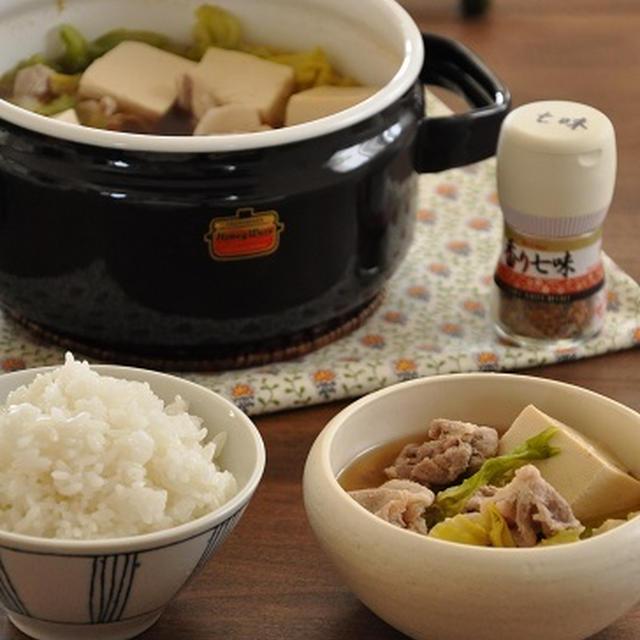 1人分84円調理時間15分♡なんにも作りたくない日も安心お鍋一つでできる豚キャベツ鍋の献立