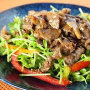 野菜がすすむ!牛肉でとっておきの「ごちそうサラダ」