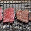 イチボ(モモとろ・国産牛モモブロック)の炭火焼
