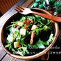 タレ自慢❤️水菜とカリカリベーコンチーズサラダ