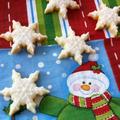 クリスマス☆可愛いアイシングクッキー☆雪の結晶 by manaママさん