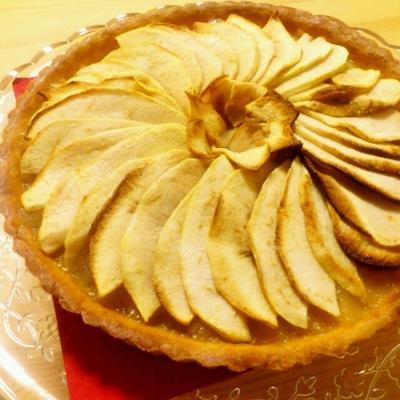 ■二種類の林檎でアップルタルトを焼きました。