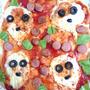 怖いハロウィンピザ(作りおき)