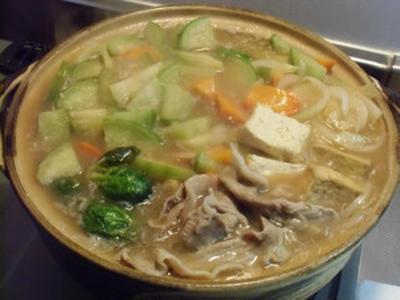 白味噌ちゃんこ鍋