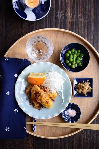 「クルジョン - 牡蠣のチヂミ」