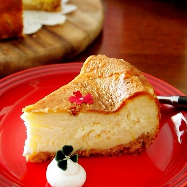 甘夏レモンのチーズケーキ&にゃ♪