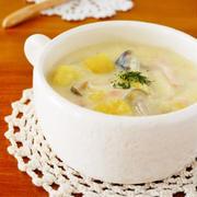 さつまいもの豆乳チャウダー♪簡単おいしい秋の味覚レシピ