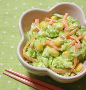 簡単シンプルな☆コールスローサラダ