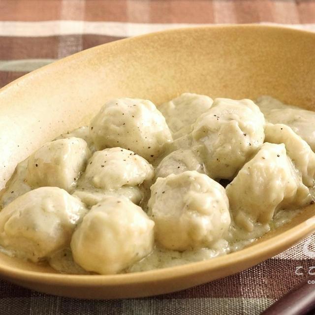 【日本酒に合うおつまみ】里芋のゴルゴンゾーラのレシピ・作り方