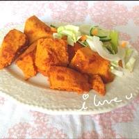【レシピ♡】タンドリー高野豆腐♡(チキンならぬw)