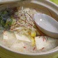 柚子の香り〜 さっぱり ミゾレ湯豆腐 ☆