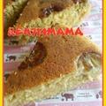 おやつは栄養満点☆おからの炊飯器ケーキ(´∪`○) by 蓮ママ☆みっきーさん