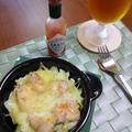 鮭缶&キャベツのチーズ焼き by さちくっかりーさん