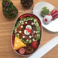 お好み焼き☆クリスマス弁当