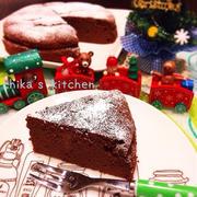 生クリ&バター不使用♪ヘルシーなお豆腐ショコラ♡クリスマスにもオススメ♪