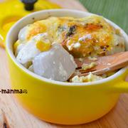 とろふわ♪里芋とコーンのマヨチーズ焼き